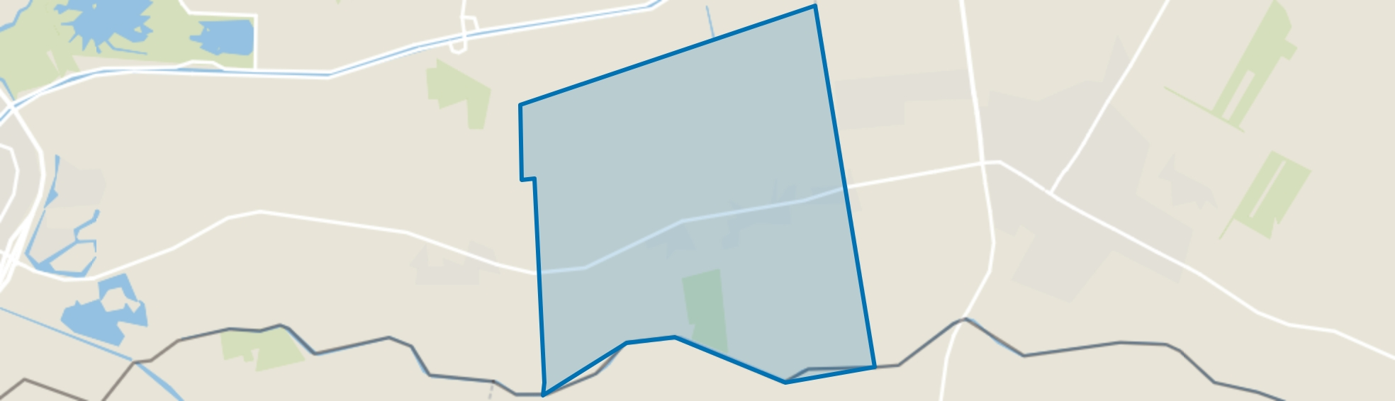 Verspreide huizen Vlieghuis en Padhuis, Coevorden map
