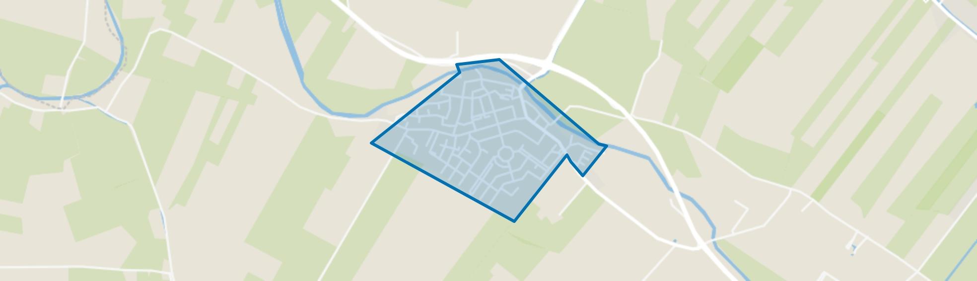 Cothen, Cothen map