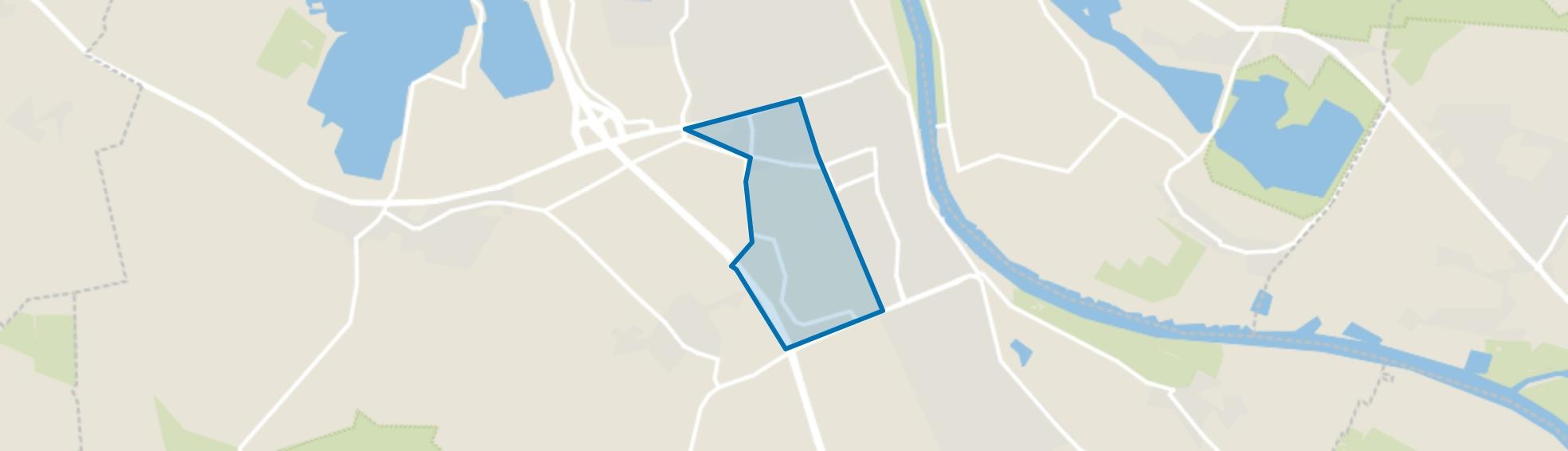 Cuijk industriegebied, Cuijk map