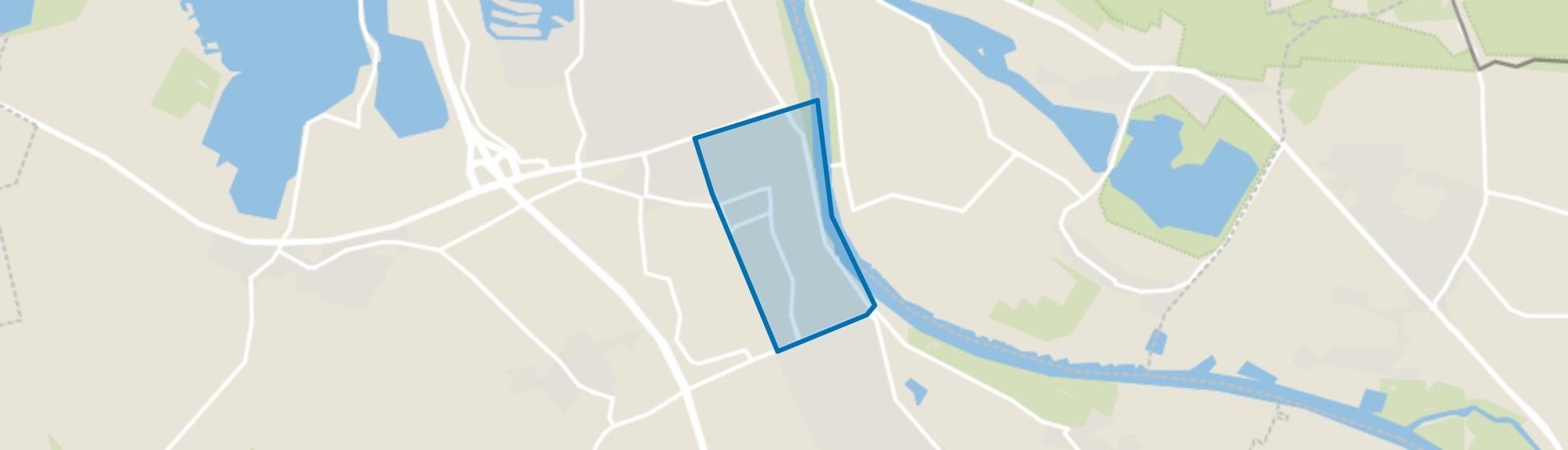 Cuijk kern, Cuijk map