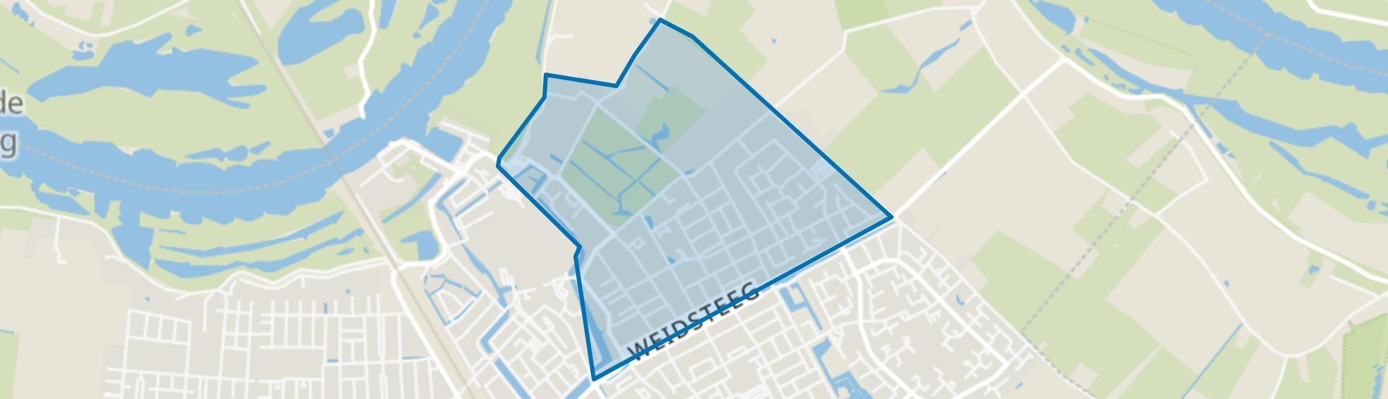 Noordoostelijke Buitenwijken, Culemborg map
