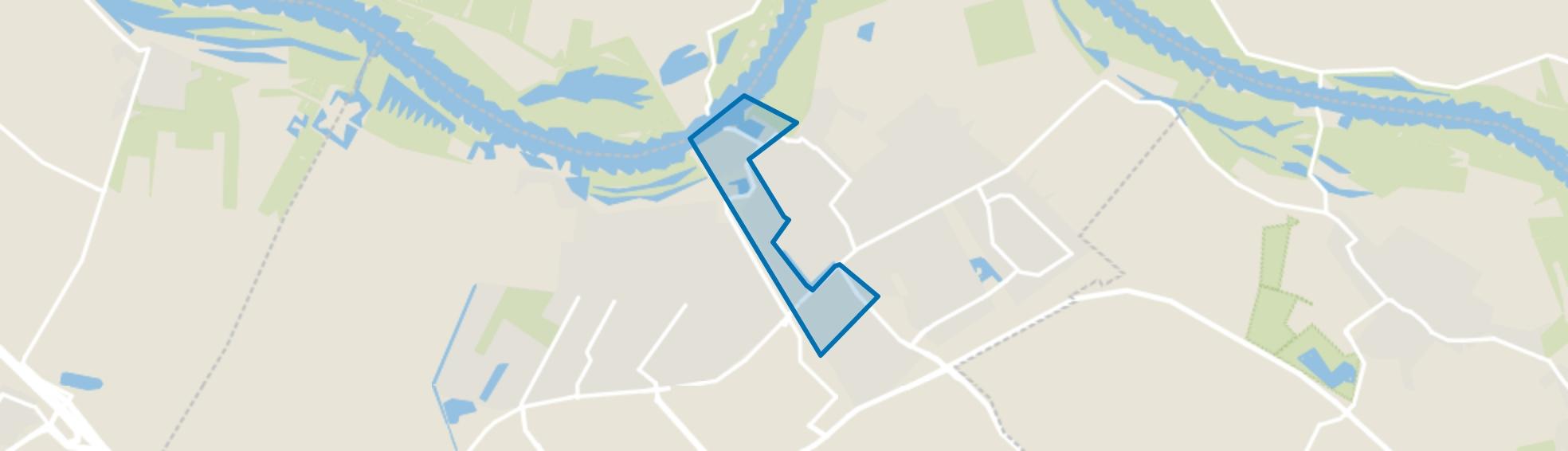 Oude Buitenwijken, Culemborg map