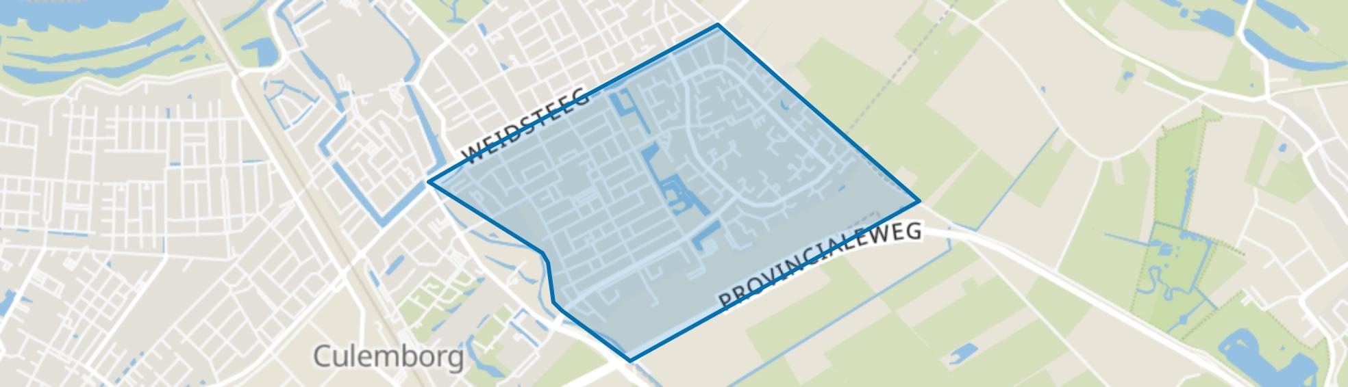 Zuidoostelijke Buitenwijken Ter Weijde, Culemborg map