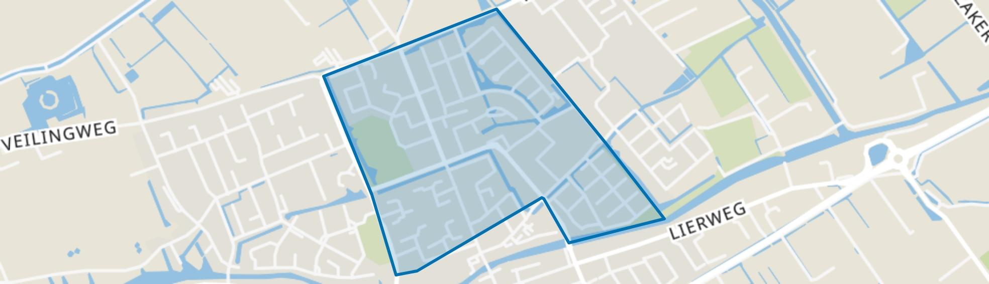 Bleyenburg, De Lier map