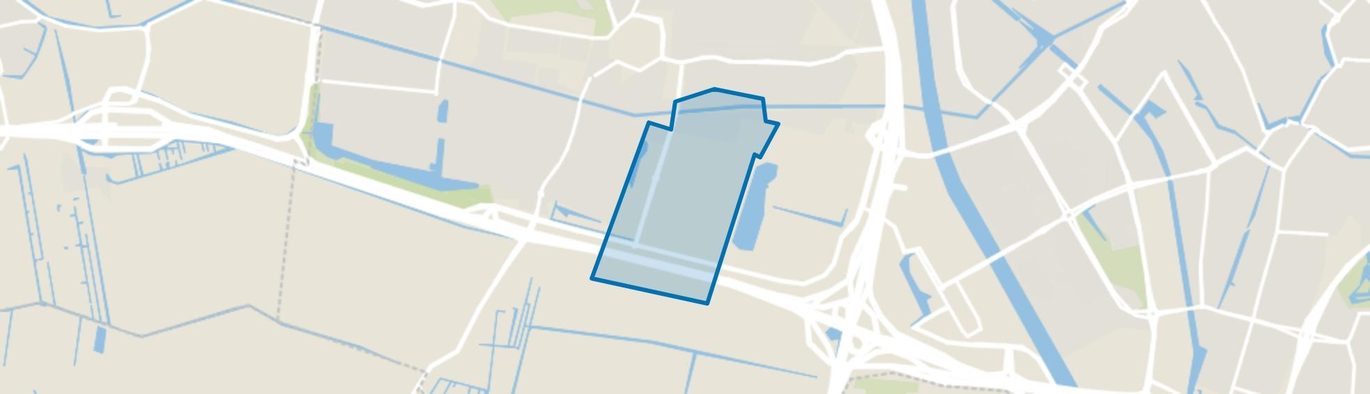Bedrijvengebied Oudenrijn, De Meern map