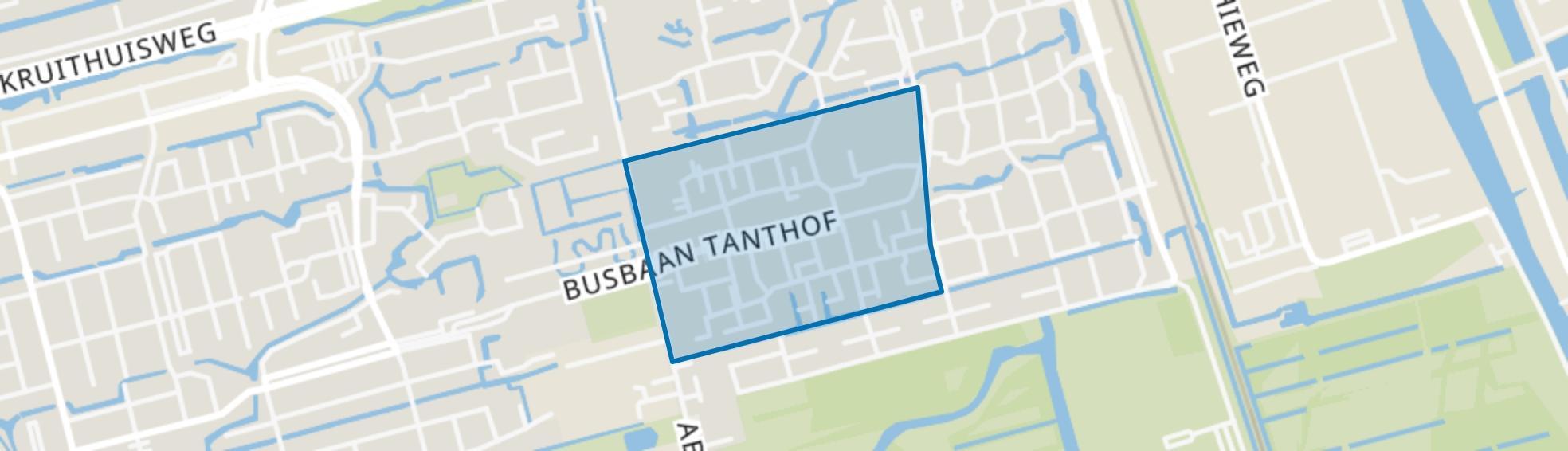 Vogelbuurt-West, Delft map