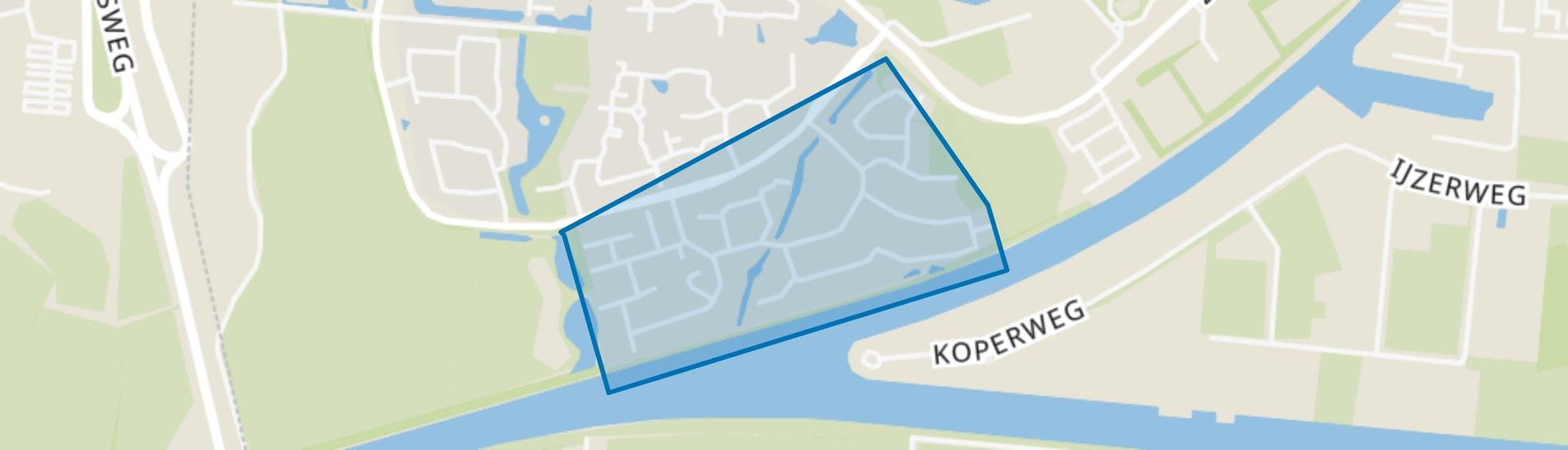 Vogelbuurt, Delfzijl map