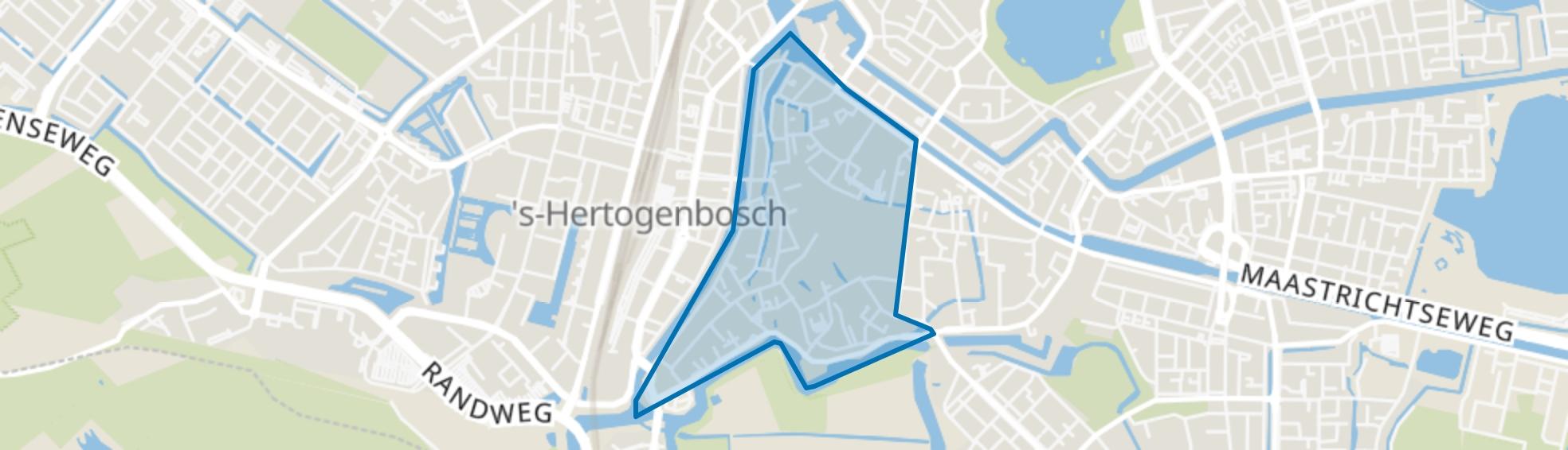 Binnenstad-Centrum, Den Bosch map