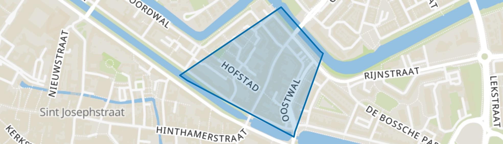 De Hofstad, Den Bosch map