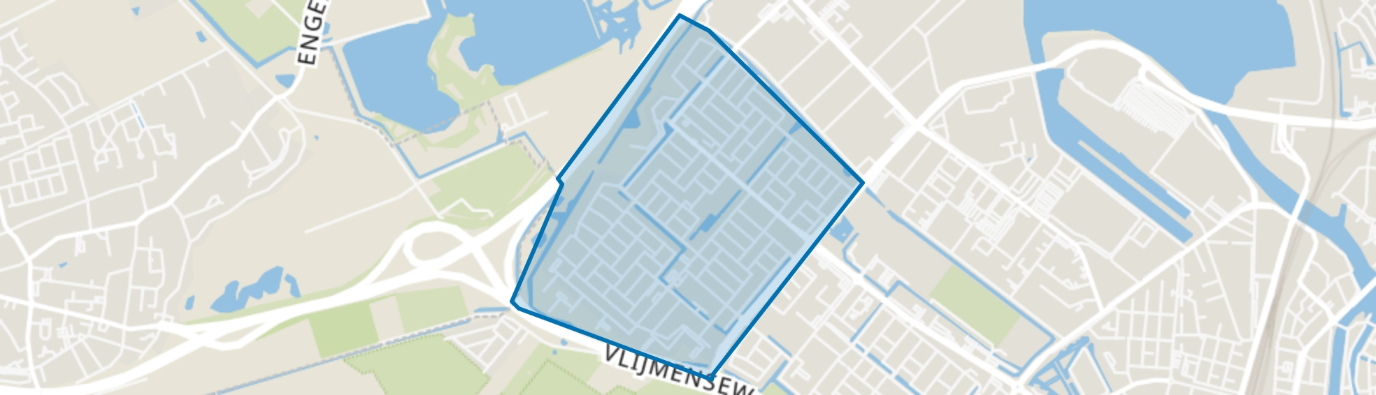 De Kruiskamp, Den Bosch map