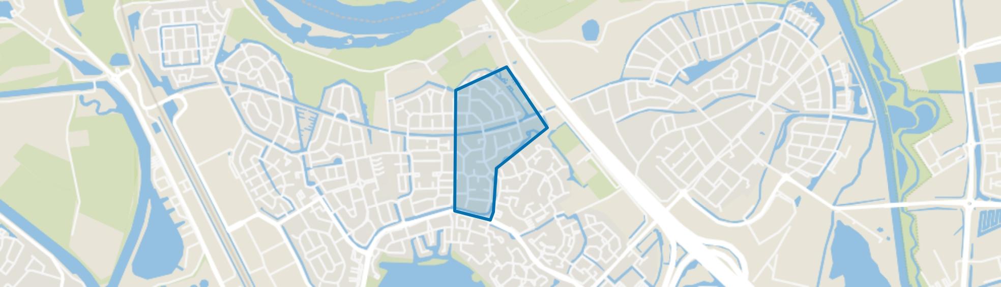 Maasstroom, Den Bosch map