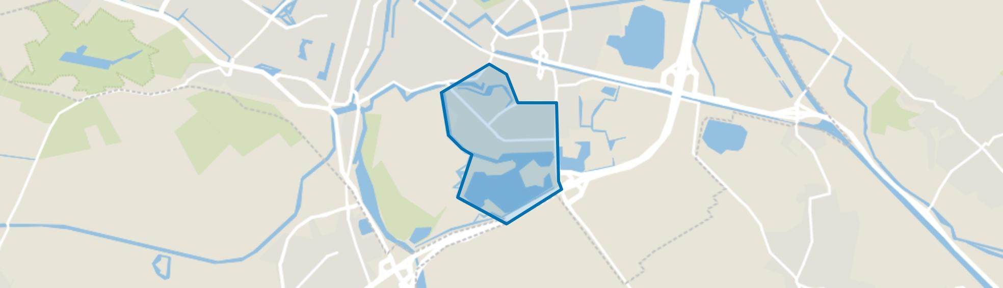 Zuid, Den Bosch map