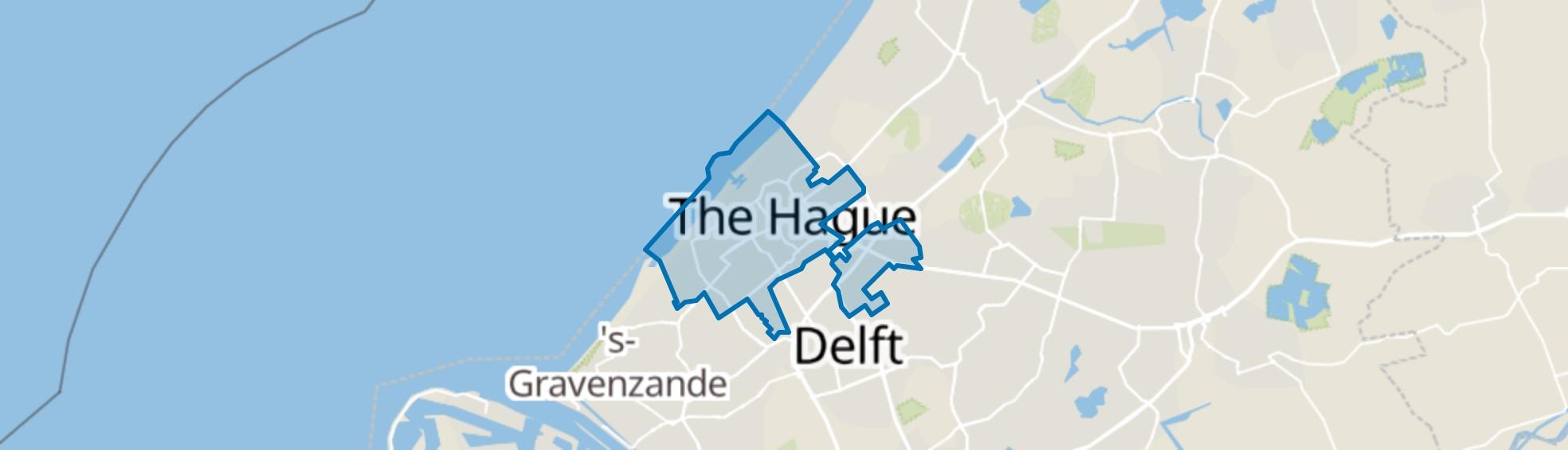 Den Haag map