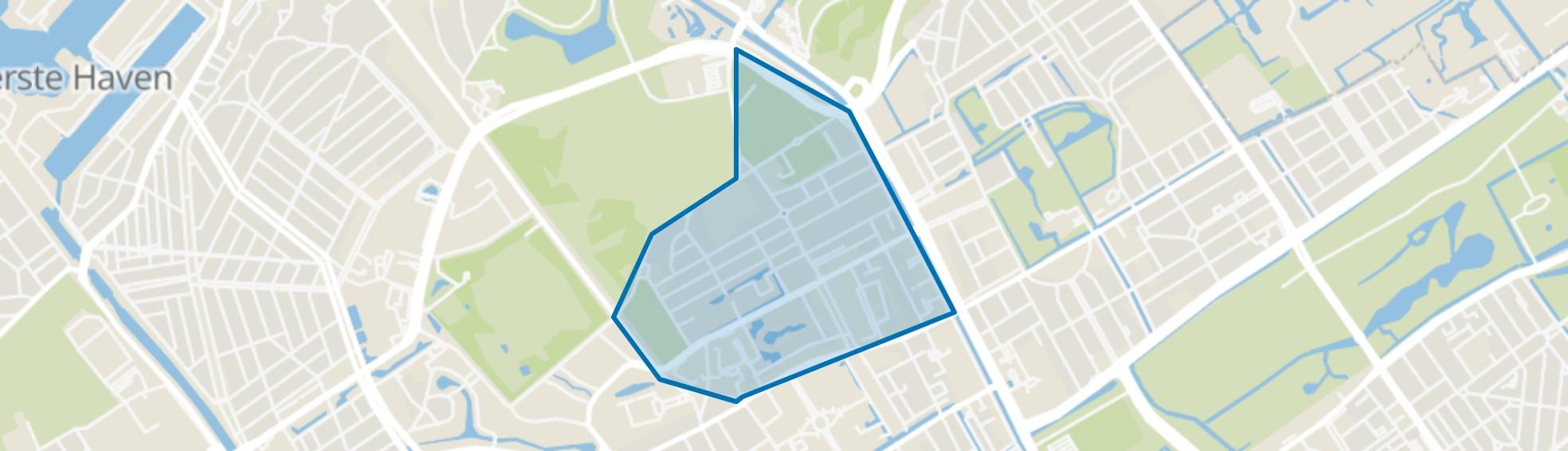 Archipelbuurt, Den Haag map