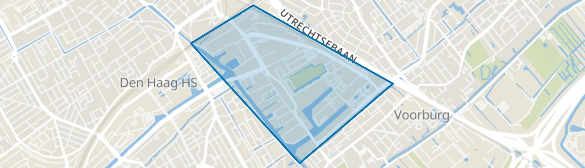 Binckhorst, Den Haag map