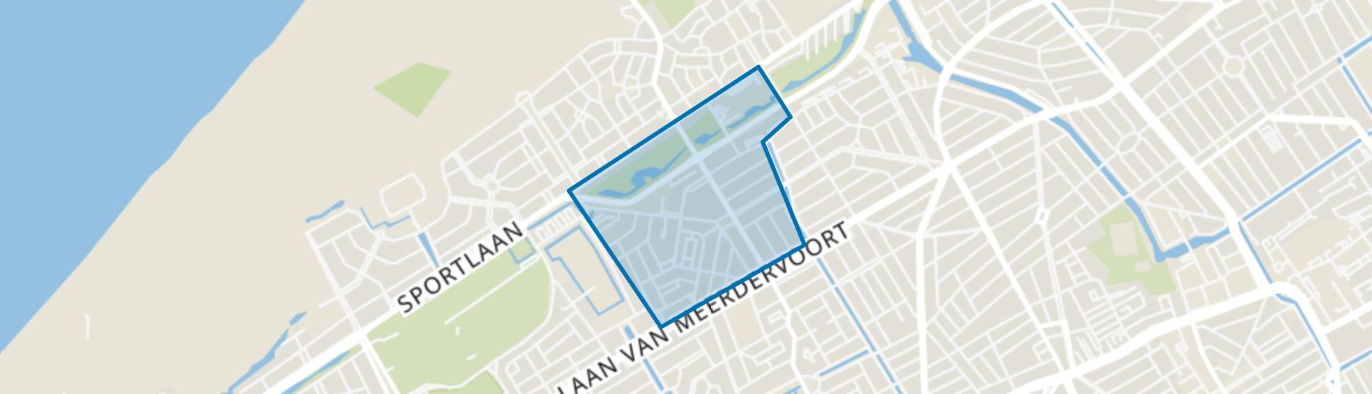 Bloemenbuurt-Oost, Den Haag map