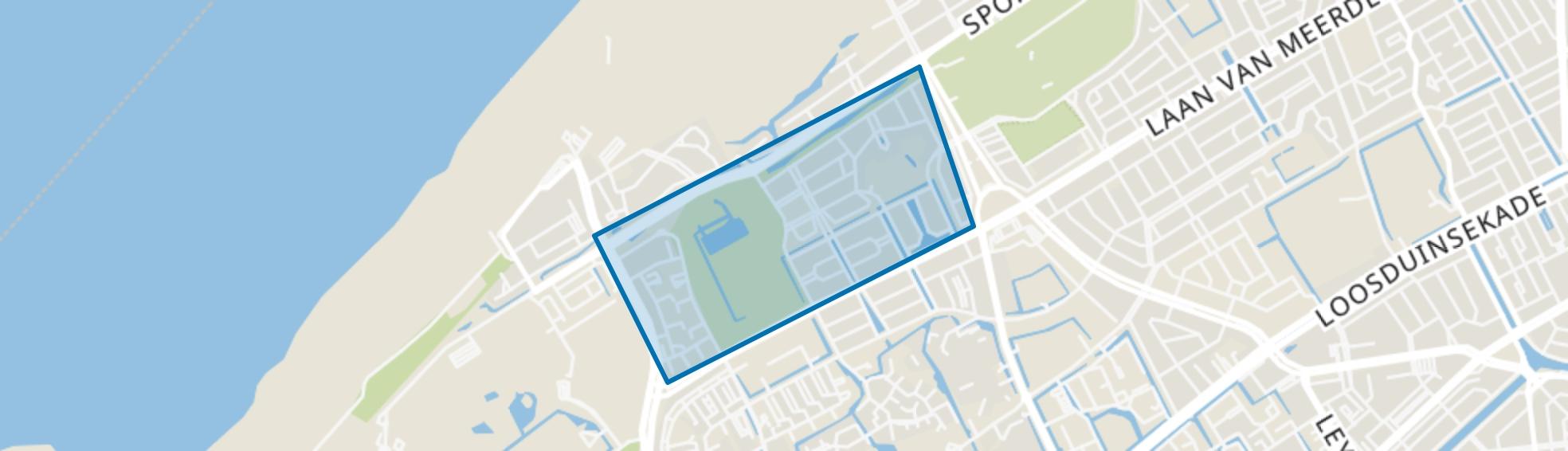 Bohemen en Meer en Bos, Den Haag map