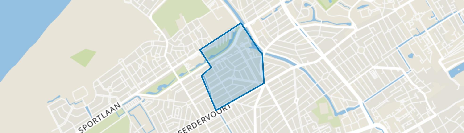 Bomenbuurt, Den Haag map