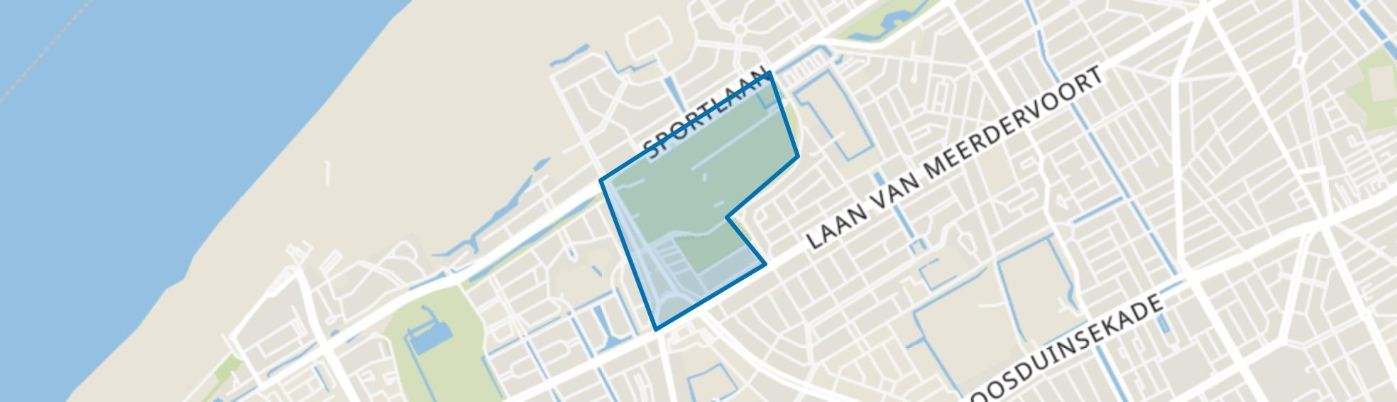 Bosjes van Pex, Den Haag map