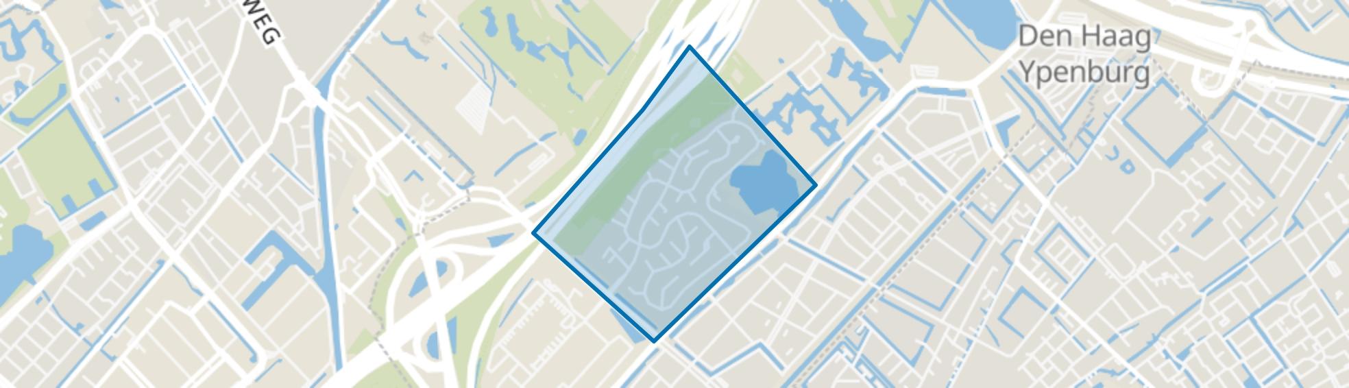 Bosweide, Den Haag map