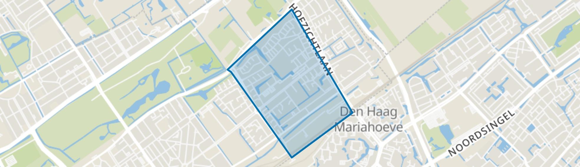Burgen en Horsten, Den Haag map