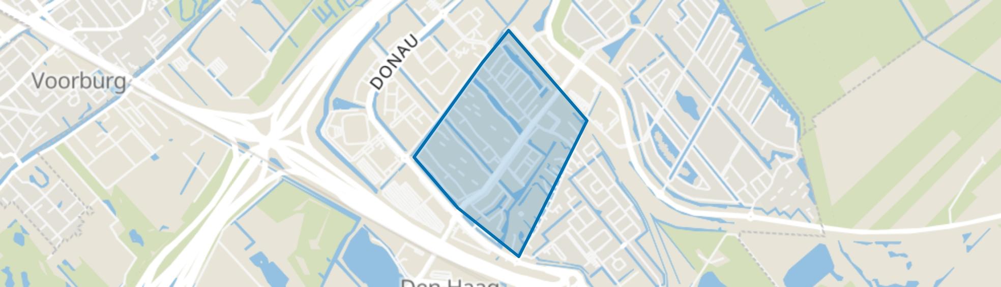De Lanen, Den Haag map
