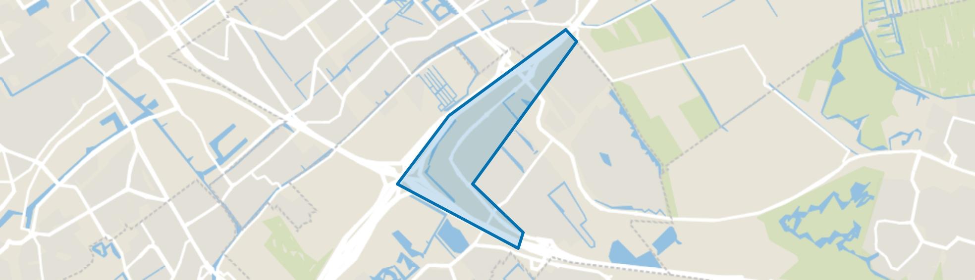 De Rivieren, Den Haag map