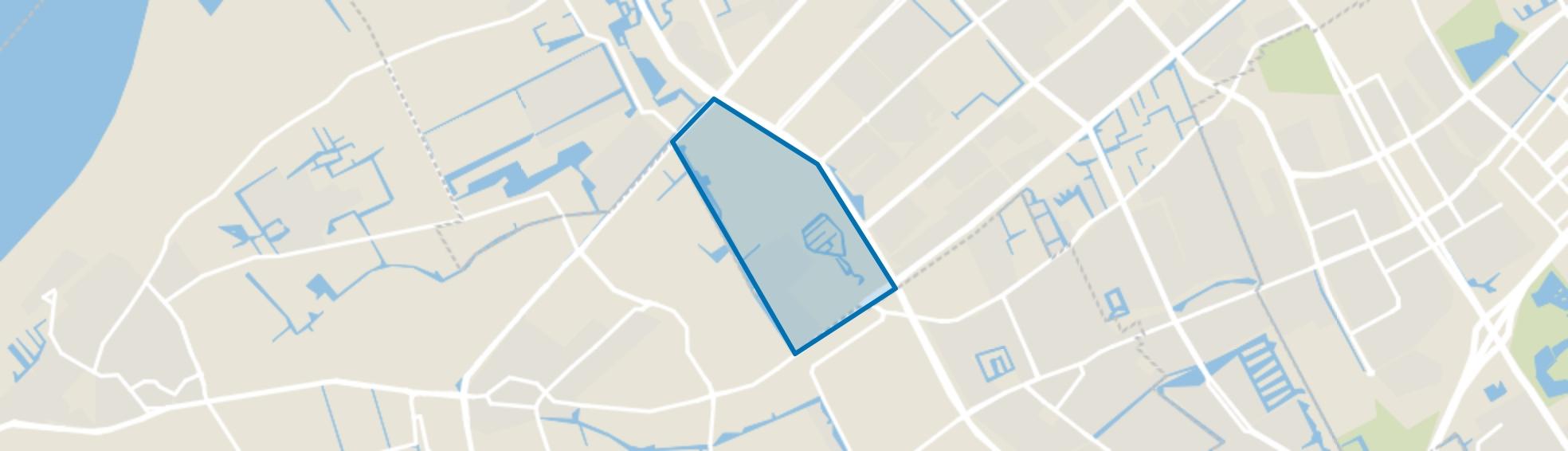 De Uithof, Den Haag map