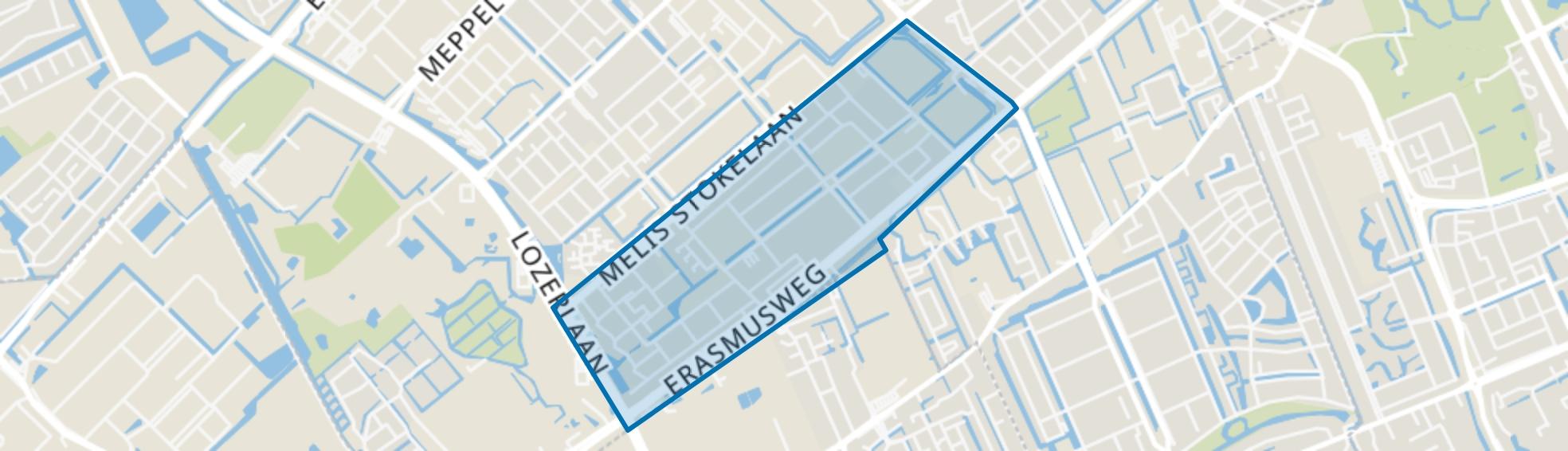 Dreven en Gaarden, Den Haag map