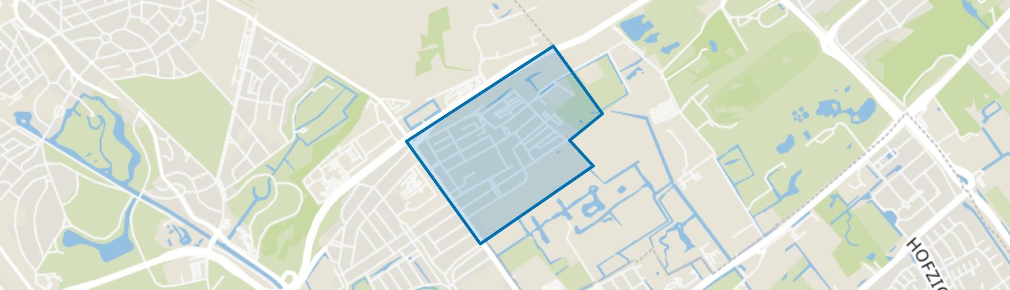 Duinzigt, Den Haag map