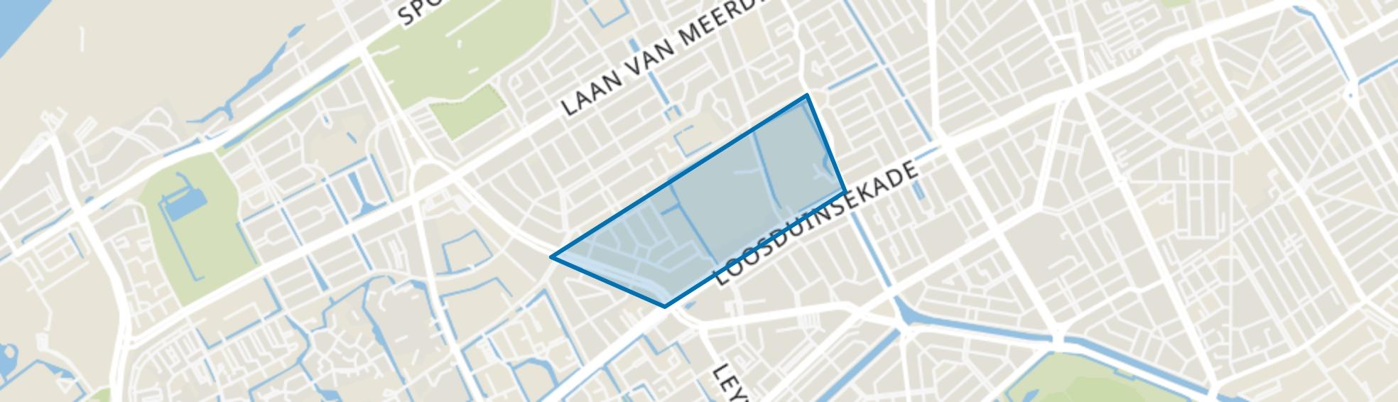 Eykenduinen, Den Haag map