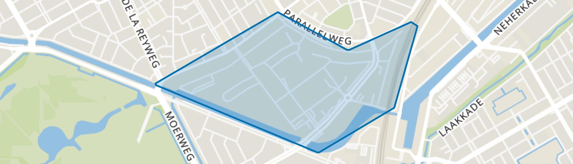 Groente- en Fruitmarkt, Den Haag map
