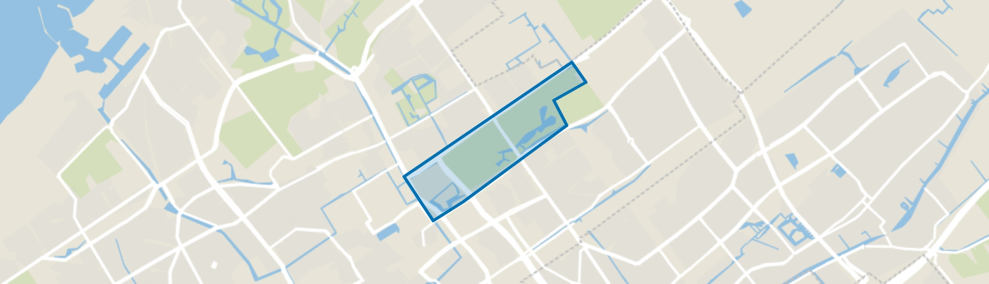 Haagse Bos, Den Haag map
