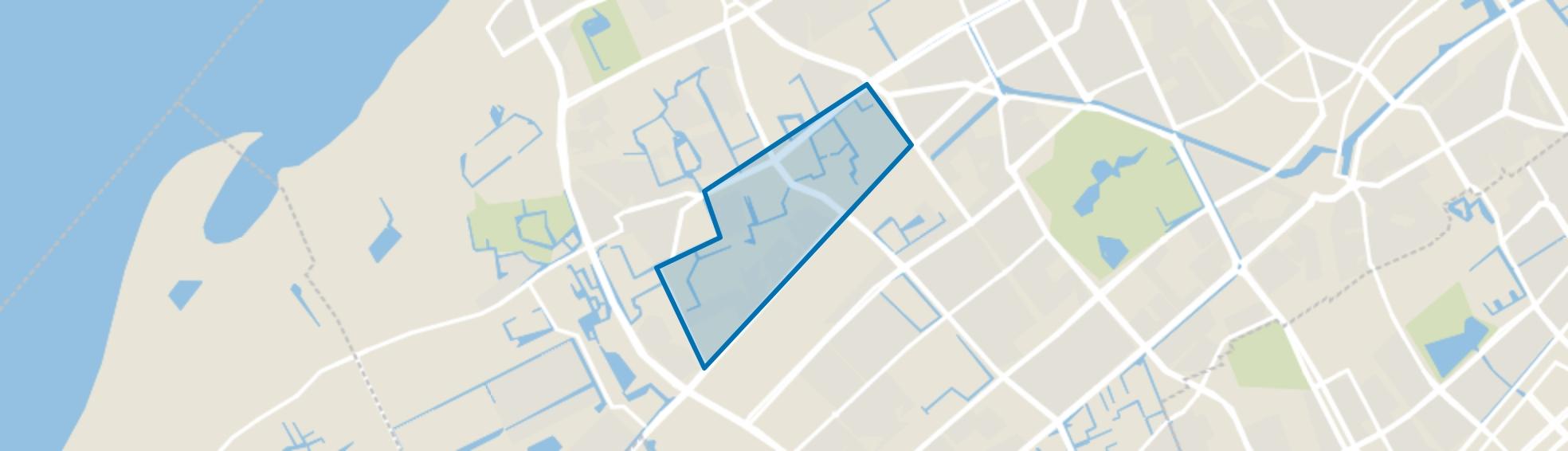 Houtwijk, Den Haag map