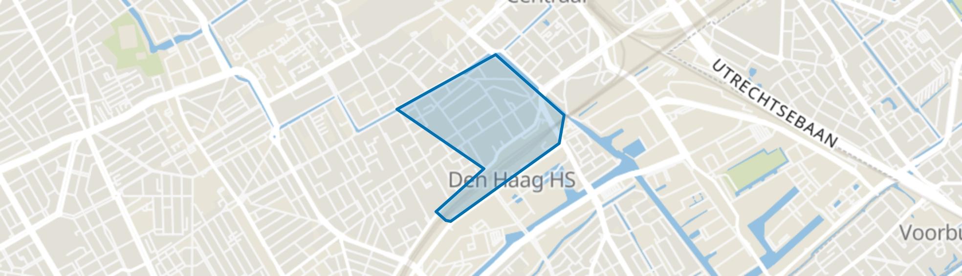 Huygenspark, Den Haag map