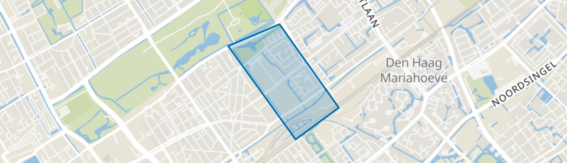 Kampen, Den Haag map