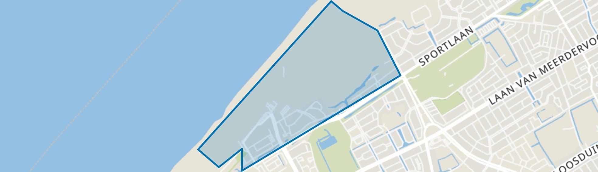 Kijkduin, Den Haag map