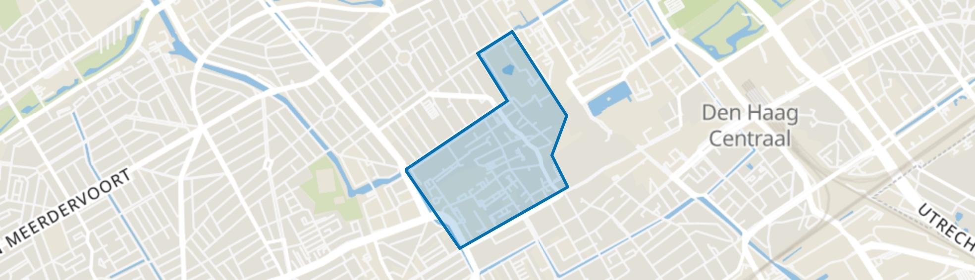 Kortenbos, Den Haag map
