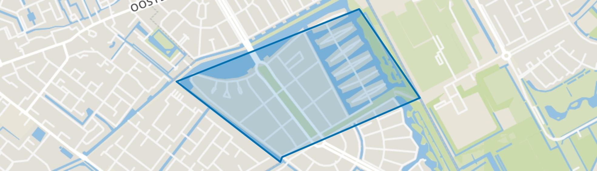 Lage Veld, Den Haag map