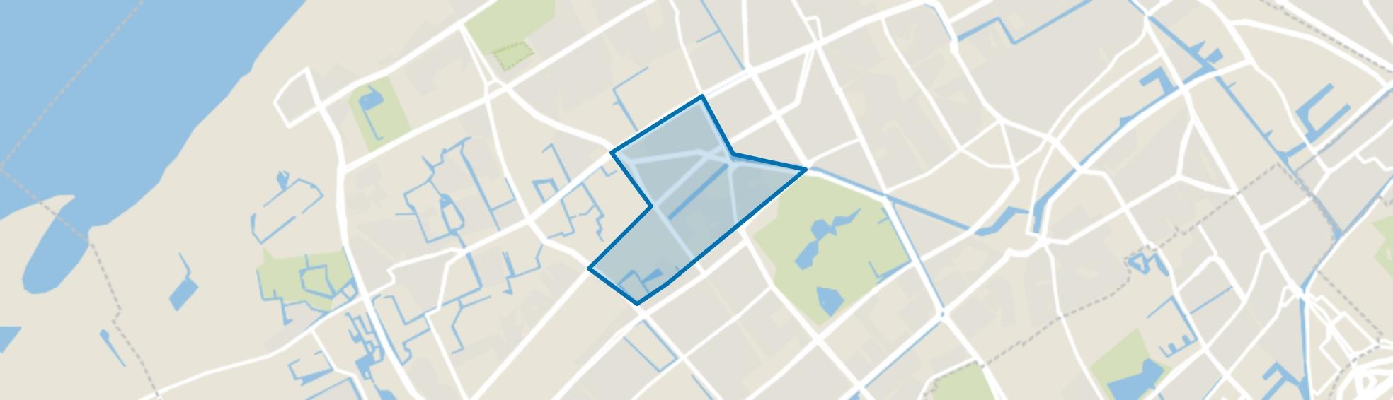 Leyenburg, Den Haag map