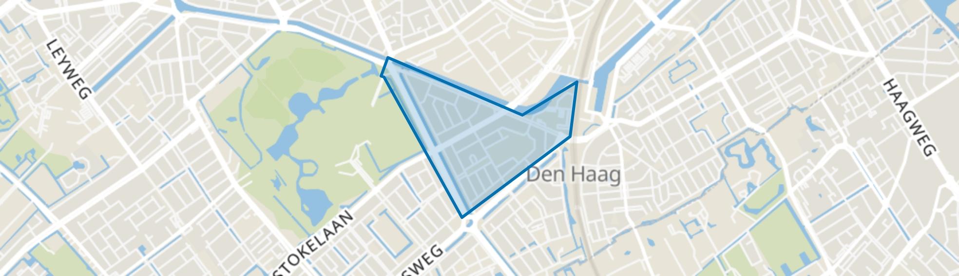 Moerwijk-Noord, Den Haag map