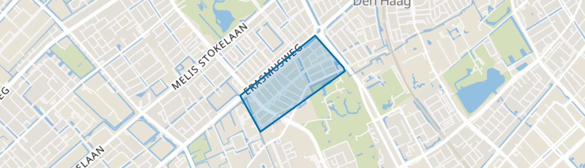 Moerwijk-Zuid, Den Haag map