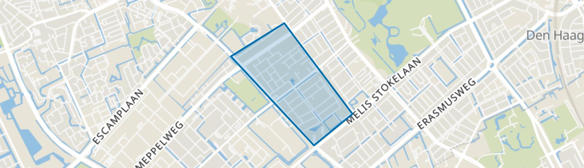 Morgenstond-West, Den Haag map