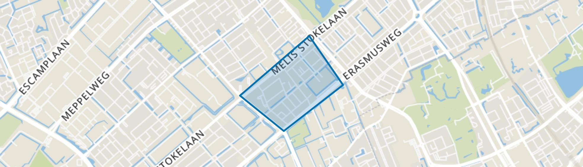 Morgenstond-Zuid, Den Haag map