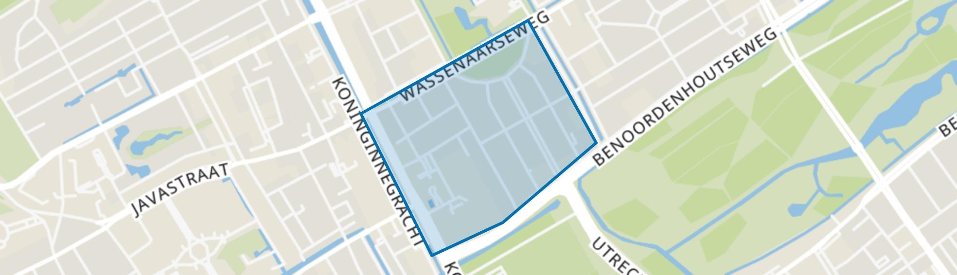 Nassaubuurt, Den Haag map