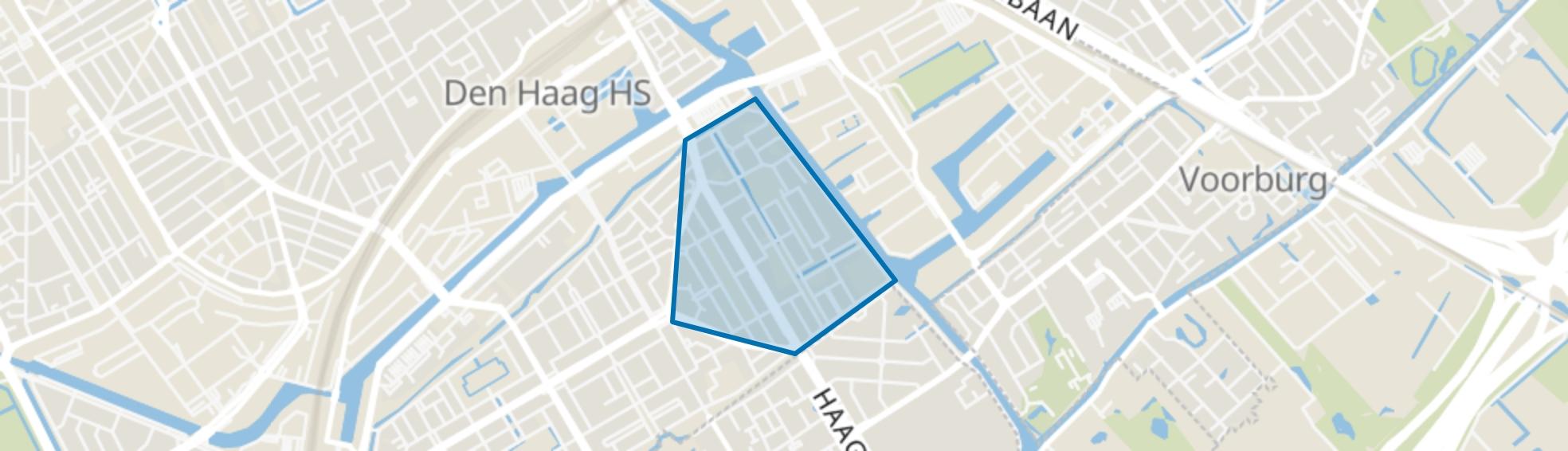 Noordpolderbuurt, Den Haag map