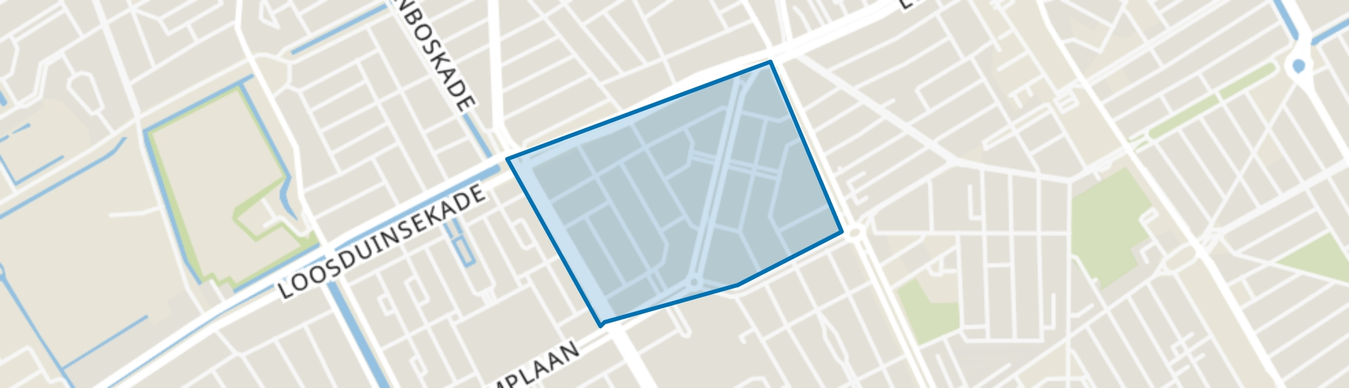 Oostbroek-Noord, Den Haag map