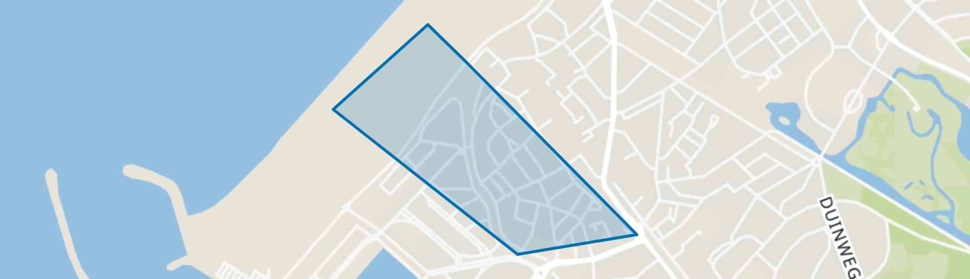 Oud Scheveningen, Den Haag map