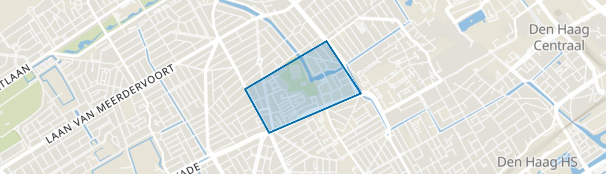 Rond de Energiecentrale, Den Haag map