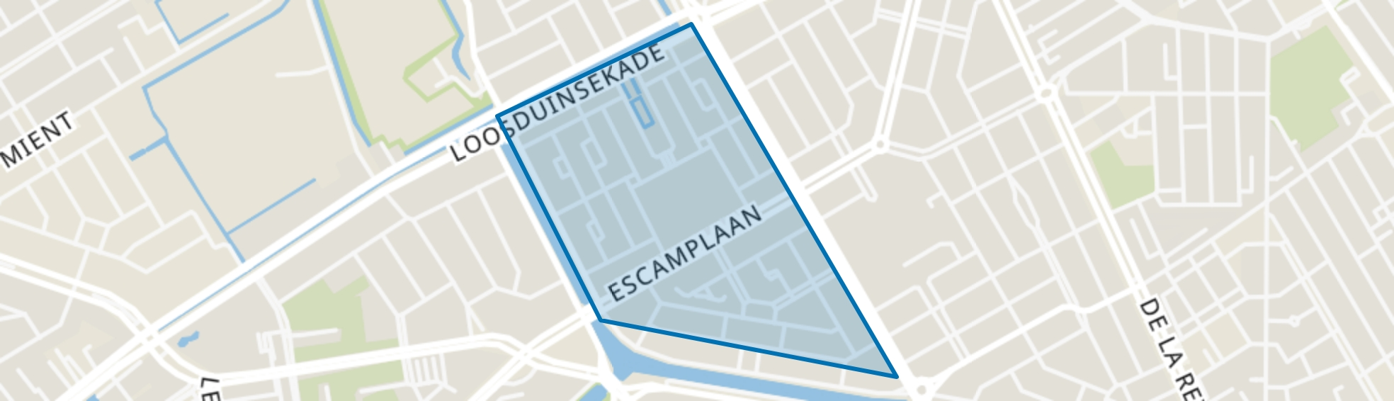 Rustenburg, Den Haag map